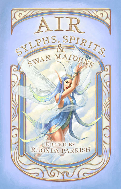 The cover of the anthology Air: Sylphs, Spirits, & Swan Maidens